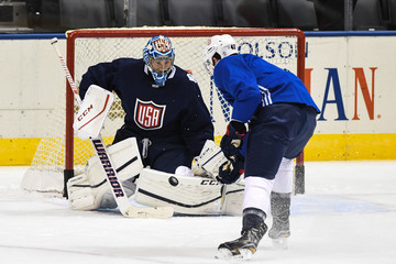 Ben Bishop World Cup of Hockey 2016 - Practice Sessions