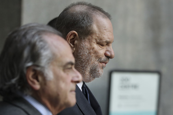 Harvey Weinstein Appears In Criminal Court On Rape Charges
