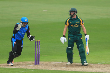 Ben Cox Nottinghamshire Vs. Worcestershire - Royal London One-Day Cup