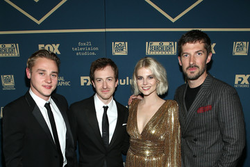 Ben Hardy Lucy Boynton FOX, FX And Hulu 2019 Golden Globe Awards After Party - Red Carpet