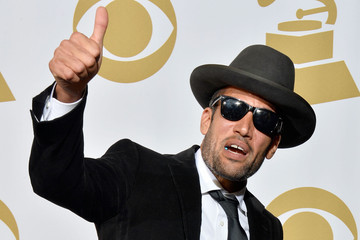 Ben Harper Press Room at the Grammy Awards