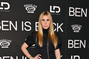 """Zosia Mamet attends the """"Ben is Back"""" New York premiere at AMC Loews Lincoln Square on December 03, 2018 in New York City."""