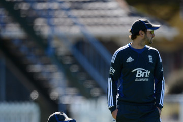 Ben Langley England Cricket Nets At The Basin Reserve
