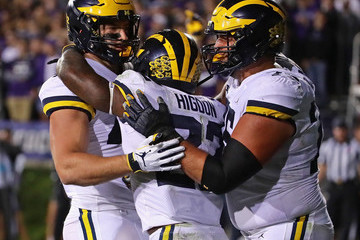 Ben Mason Michigan vs. Northwestern