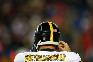 Ben Roethlisberger Pittsburgh Steelers v New England Patriots