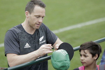 Ben Smith All Blacks Media Day In Buenos aires
