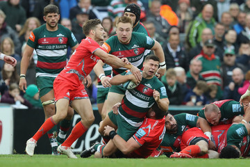 Ben Youngs Leicester Tigers vs. Sale Sharks - Gallagher Premiership Rugby