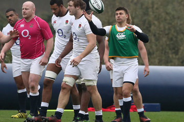 Ben Youngs England Training Session