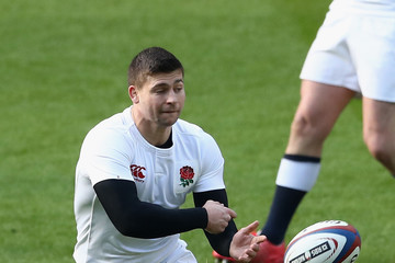 Ben Youngs England Open Training Session