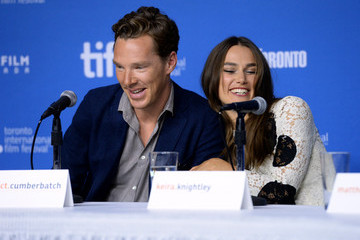 Benedict Cumberbatch 'The Imitation Game' Press Conference - 2014 Toronto International Film Festival
