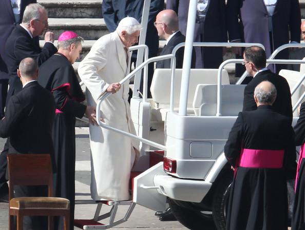 Pope Benedict XVI Holds His Final General Audience Before His Retirement
