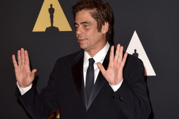 Benicio Del Toro Academy of Motion Picture Arts and Sciences' 7th Annual Governors Awards - Arrivals