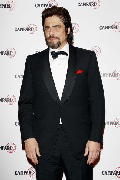 "Benicio del Toro (US OUT - This picture cannot be used in any US media outlet)  Benicio del Toro attend ""The Red Affair: Campari Calendar 2011"" cocktail party on October 21, 2010 in Milan, Italy."