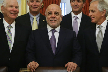 Benjamin Cardin Senate Foreign Relations Committee Hosts Iraqi Prime Minister Haider al-Abadi