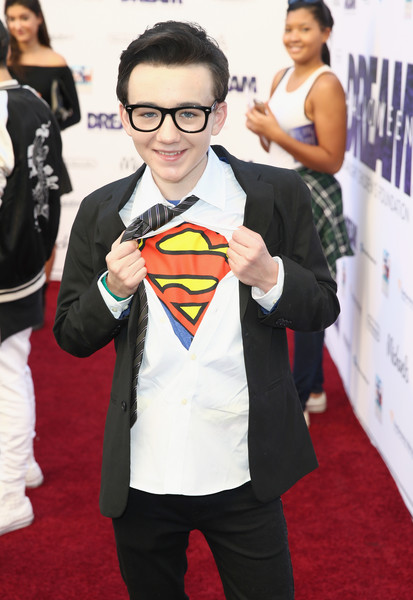 Starlight's Dream Halloween 2016 [red carpet,carpet,flooring,superhero,costume,fictional character,superman,event,premiere,suit,los angeles,california,dream halloween 2016,benjamin stockham,starlight]