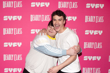Benjamin Wadsworth Kevin Smith Hosts Premiere Week Screening Of SYFY's 'Deadly Class' With Cast