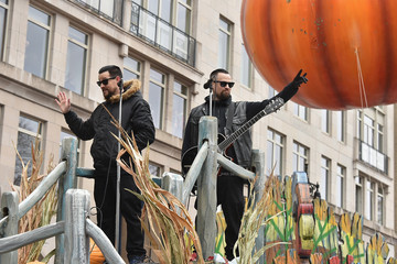Benji Madden 88th Annual Macy's Thanksgiving Day Parade