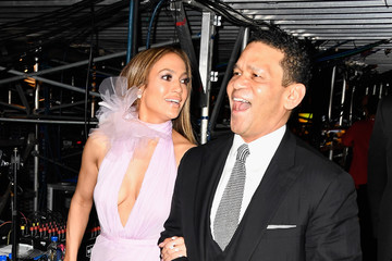 Benny Medina The 59th GRAMMY Awards -  Backstage