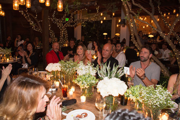 Benny Shabtai Sir Philip Green Hosts Dinner In Celebration Of Topshop Topman Miami Store Opening
