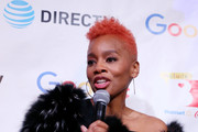 Anika Noni Rose speaks at the second annual Cocktails and Conversation event presented by the Bentonville Film Festival and Google at the DirecTV Lodge presented by AT&T during Sundance Film Festival 2018 on January 20, 2018 in Park City, Utah.
