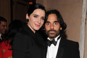 Michele Hicks and James Kaliardos attend Bergdorf Goodman's 111th anniversary celebration at the Plaza Hotel on October 18, 2012 in New York City.