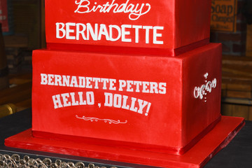 Bernadette Peters Bernadette Peters Celebrates Birthday On-Stage At Broadway's 'HELLO, DOLLY!'