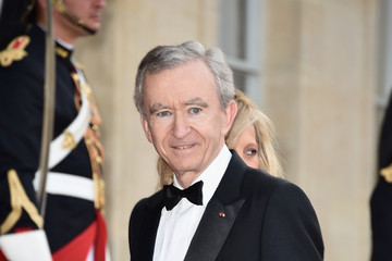 Bernard Arnault Queen Elizabeth II Visits Paris: Day 2