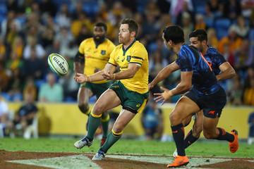 Bernard Foley Australia vs. Argentina - The Rugby Championship