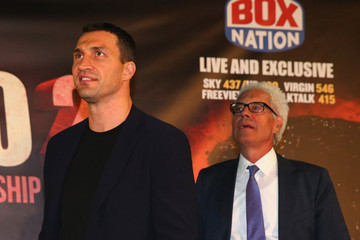 Bernd Bonte Tyson Fury & Wladimir Klitschko Head to Head Press Conference