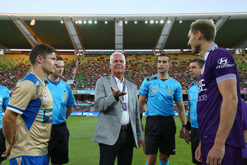 Bernd Stange A-League Rd 10 - Perth v Newcastle