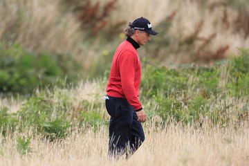 Bernhard Langer The Senior Open Championship - Day Two