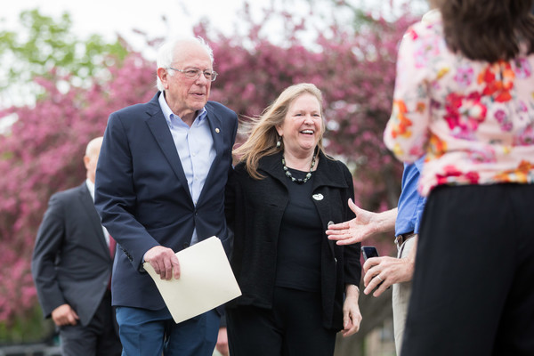 Democratic Presidential Candidate Sen. Bernie Sanders Holds Rally In Capital Of His Home State Of Vermont