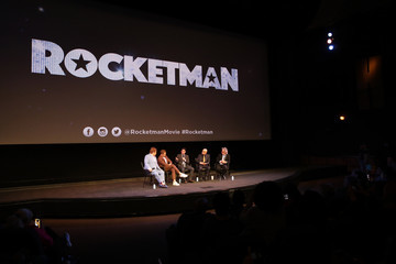 Bernie Taupin Taron Egerton Special Screening Q And A In Support Of 'Rocketman'