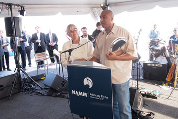 Bernie Williams Mary Luehrsen Music Industry Leaders And Artists Drum Up Support For Music Education on Capitol Hill
