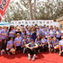 Maria Shriver Gavin Newsom Photos - Honorary Co-Chairs Maria Shriver and Lieutenant Governor of California Gavin Newsom pose with Team Maria at the Walk, Run and Ride during Best Buddies Hearst Castle Challenge on September 12, 2015 in Carmel, California. - Best Buddies Hearst Castle Challenge - Walk, Run and Ride