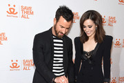 Justin Theroux and Emmy Rossum Photos Photo