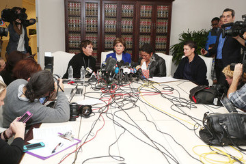 Beth Ferrier Gloria Allred News Conference