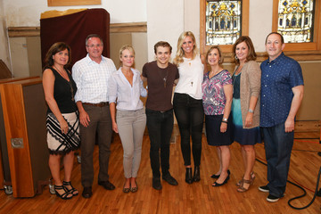 Beth Moore ACM Lifting Lives Music Camp Studio Day With Hunter Hayes and Ross Copperman