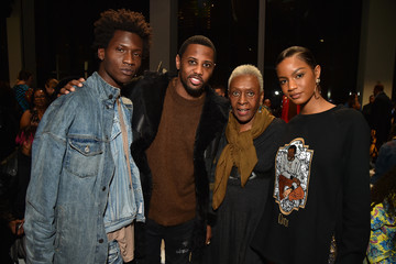 Bethann Hardison Pyer Moss - Front Row - February 2018 - New York Fashion Week: The Shows