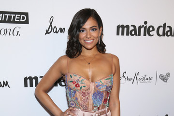 Bethany Mota Marie Claire Celebrates Fifth Annual 'Fresh Faces' in Hollywood With SheaMoisture, Simon G. And Sam Edelman - Arrivals