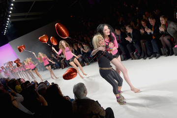 Betsey Johnson Front Row at the Betsey Johnson Show