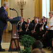 Betsy Price Trump Hosts Working Session With U.S. Mayors in East Wing of White House