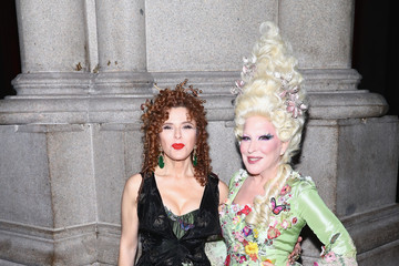 Bette Midler Bette Midler & Bernadette Peters at Hulaween. Current Star of Hello, Dolly! Celebrates Halloween Benefit with Upcoming Star