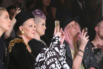 Bette Midler The Blonds - Front Row - Spring 2016 MADE Fashion Week