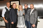 "(L-R) Actors Patrick Fabian, Bob Odenkirk, Rhea Seehorn, executive producer Peter Gould and actor Michael Mando attend the ""Better Call Saul"" ATAS FYC Event at Sony Pictures Studios on April 14, 2016 in Culver City, California."