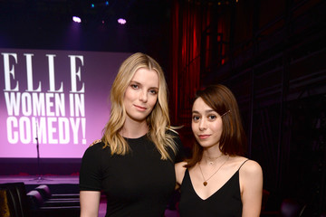 Betty Gilpin ELLE Hosts Women in Comedy Event With July Cover Star Kate McKinnon