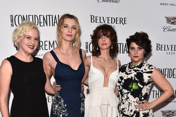 Betty Gilpin Los Angeles Confidential Celebrates Its Awards Issue Hosted by Cover Stars Alison Brie, Milo Ventimiglia and Ana De Armas - Arrivals