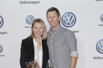 Beverley Mitchell Vanessa Hudgens And Austin Butler Celebrate Volkswagen's Annual Holiday Drive-In