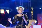 Celebs Perform at the Beverly Hills Holiday Lighting Ceremony on Rodeo Drive