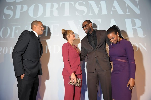 Beyonce Knowles - 2012 Sports Illustrated Sportsman Of The Year Award Presentation - Inside